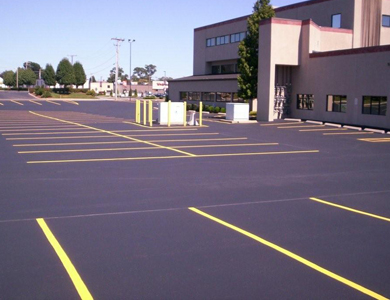 Allstate Sealcoating Gallery Line Striping Crack Filling